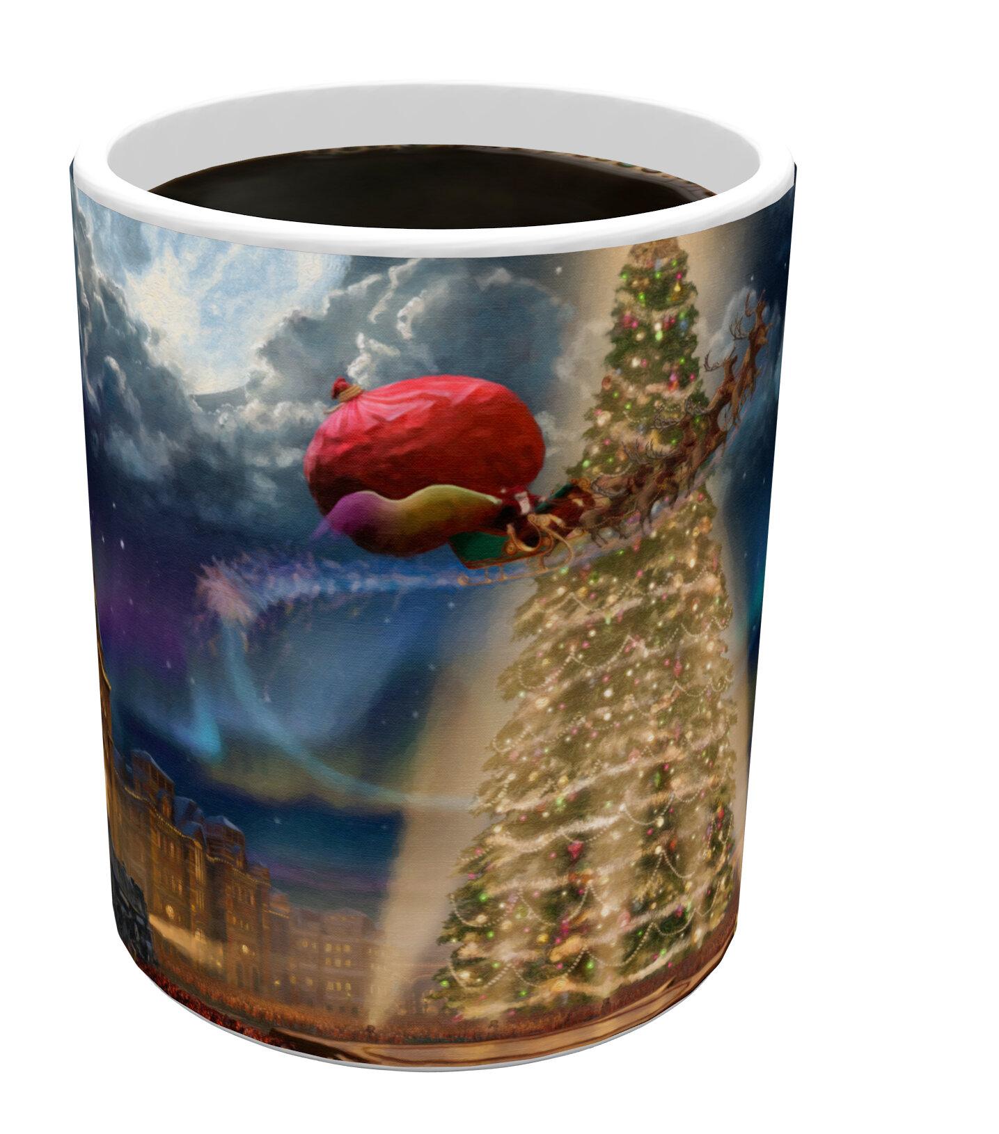 Morphing Mugs Thomas Kinkade (The Polar Express) Heat-Sensitive Mug   Wayfair