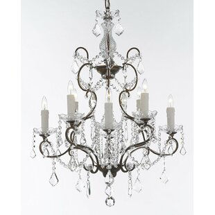 Rosdorf Park Linscott 8-Light Chandelier
