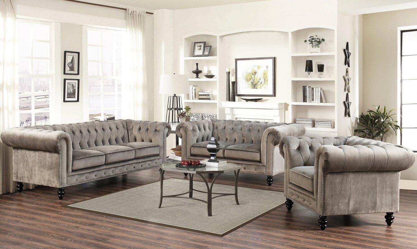 Beautiful Kashvi Chesterfield Sofa