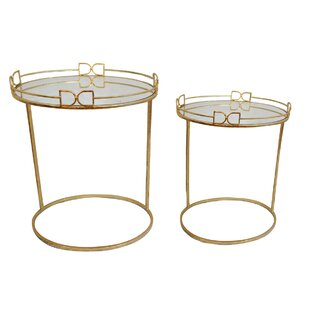 Bayaud 2 Piece Nesting Tables by Mercer41