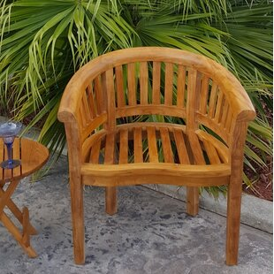 Peanut Teak Patio Dining Chair