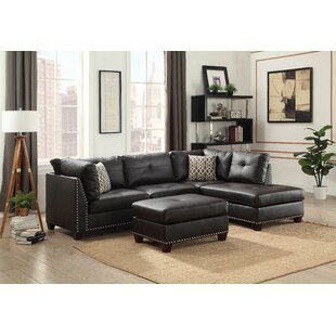 Dorcheer Sectional with Ottoman Darby Home Co
