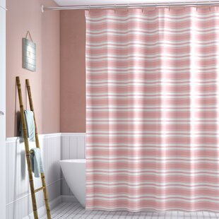 Alec Classic Stripe Single Shower Curtain