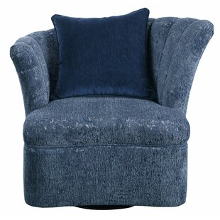 Fabric Swivel Slipper Chair by Major-Q