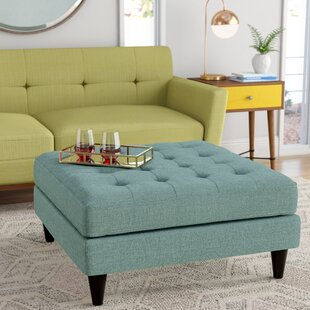 Brilliant Janeen Tufted Cocktail Ottoman Evergreenethics Interior Chair Design Evergreenethicsorg