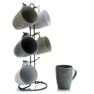 Bosley Waves Coffee Mug (Set of 6)