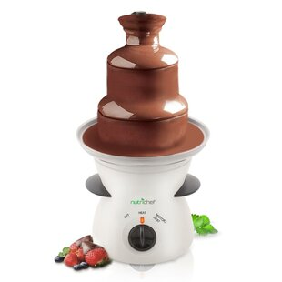 Electric Fondue Pot 3-Tier Chocolate Fountain