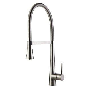 Alfi Brand Single Handle Pull Down Kitchen Faucet