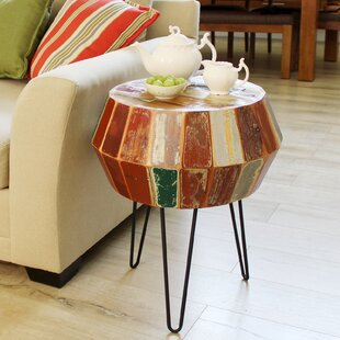 World Menagerie Seamans Reclaimed Wood End Table