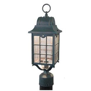 Best Flannigan 1-Light Lantern Head By Charlton Home