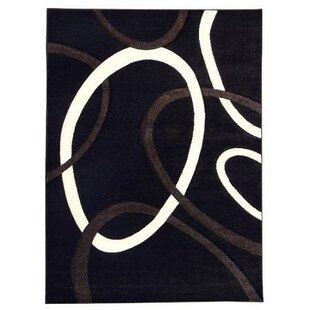 Affordable Price Hollywood Black Area Rug ByAmerican Cover Designs