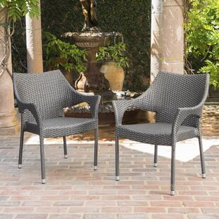 Danna Patio Chair (Set of 2) By Mercury Row