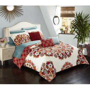 Chasville Reversible Comforter Set by Latitude Run