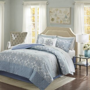 Alcott Hill Wedgewood Complete Comforter and Cotton Sheet Set