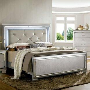 Bokan Lake Upholstered Panel Bed by Rosdorf Park
