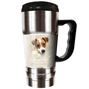 Howard Robinson's Jack Russell 20 oz. Stainless Steel Travel Tumbler