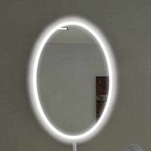 Comparison Oval Backlit Bathroom / Vanity Wall Mirror ByParis Mirror