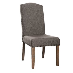 Hendrix Upholstered Dining Chair (Set Of 2) by One Allium Way 2019 Sale