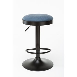 Taya Adjustable Height Swivel Bar Stool by Ebern Designs