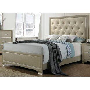 Rosdorf Park Porter Upholstered Panel Bed