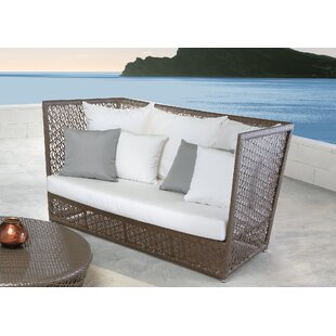 Maldives Patio Loveseat with Sunbrella Cushions by Panama Jack Outdoor
