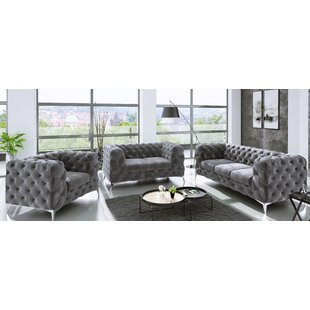 Fleischmann 3 Piece Sofa Set By Fairmont Park