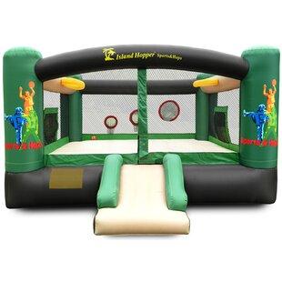 Island Hopper Sports n Hops Bounce house