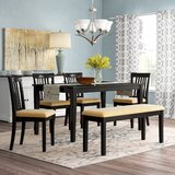 Alabama 6 Piece Dining Set by August Grove®