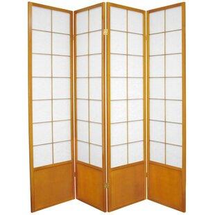 Camille Zen 4 Panel Room Divider