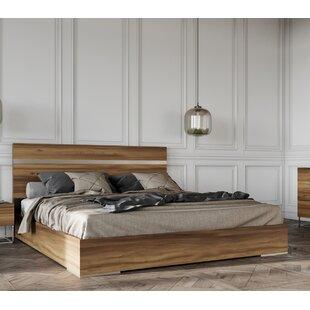 Price comparison KingonPlatform Bed by Brayden Studio Reviews (2019) & Buyer's Guide