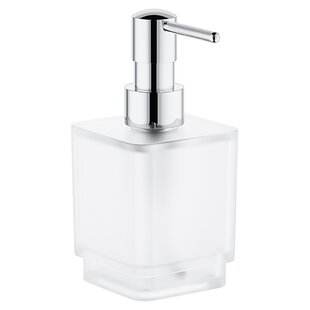 Grohe Selection Cube Soap and Lotion Dispenser