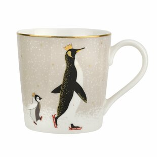 Christmas Penguin 12 oz. Coffee Mug