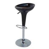 Izabella Adjustable Height Swivel Bar Stool (Set of 2) by Orren Ellis