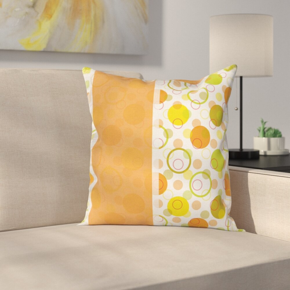 Stain Resistant 16 Square Pillow Cover