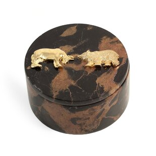 Online Reviews Stock Market Marble Round Accessory Box By World Menagerie