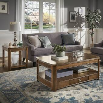 Charlton Home Manel 2 Piece Coffee Table Set Reviews Wayfair Ca