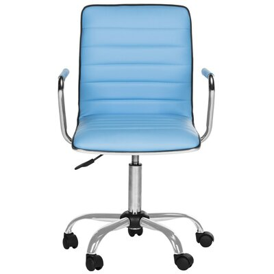 Blue Leather Office Chairs You Ll Love In 2019 Wayfair