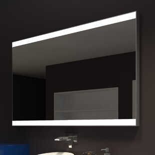 Price Check Kristian Modern LED Illuminated Bathroom / Vanity Wall Mirror ByOrren Ellis