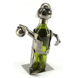 Bowler 1 Bottle Tabletop Wine Rack by Win..
