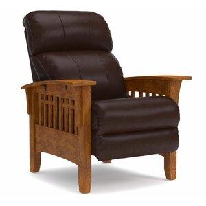 Pleasing La Z Boy Eldorado Leather Manual Recliner Jowtong Kamsong Theyellowbook Wood Chair Design Ideas Theyellowbookinfo