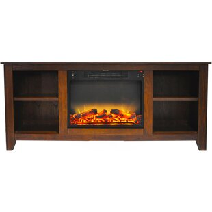 Brook Hollow TV Stand for TVs with Fireplace by Alcott Hill