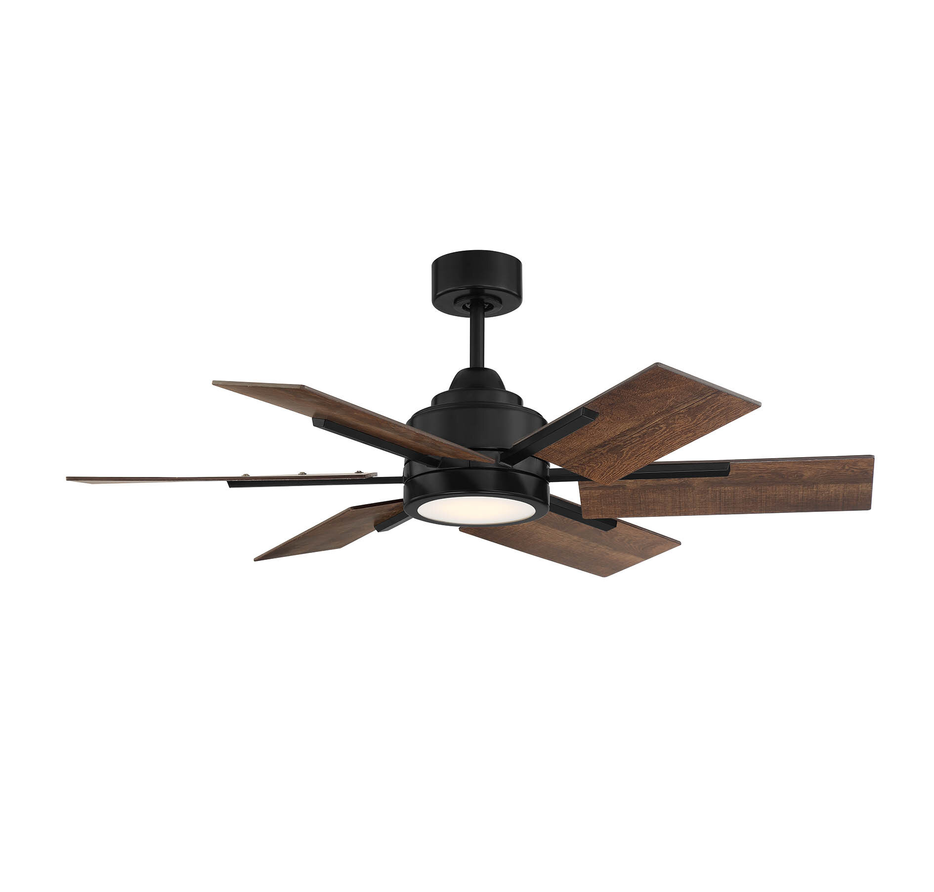 Ivy Bronx 44 Bernardyn 6 Blade Led Ceiling Fan With Remote Light Kit Included Wayfair Ca