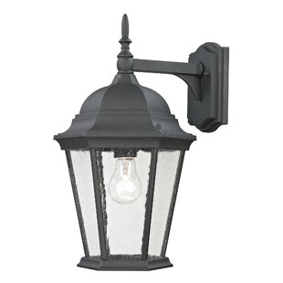 Reviews Grissom 1-Light Outdoor Wall Lantern By Alcott Hill