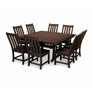 POLYWOOD® Vineyard 9 Piece Dining Set