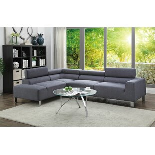 Orren Ellis Barons 2 Piece Sectional Set