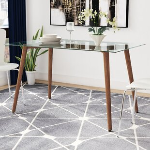 Edgardo Glass Dining Table