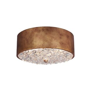 House of Hampton Hertzler 2-Light Flush Mount