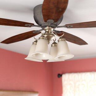 4-Light Branched Ceiling Fan Light Kit