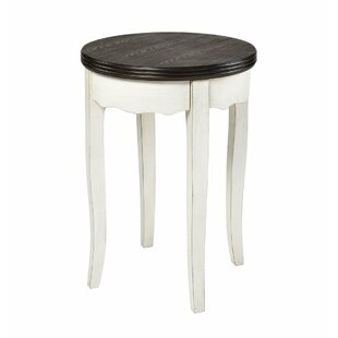 Lacayo End Table by Charlton Home