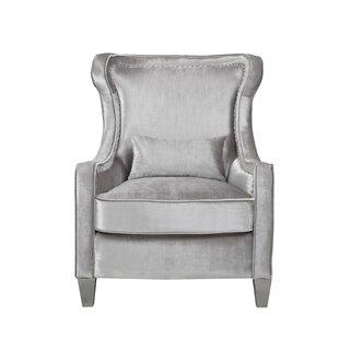 Everly Quinn Keiser Wingback Chair